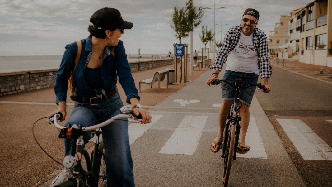 À la découverte d'Hossegor à vélo